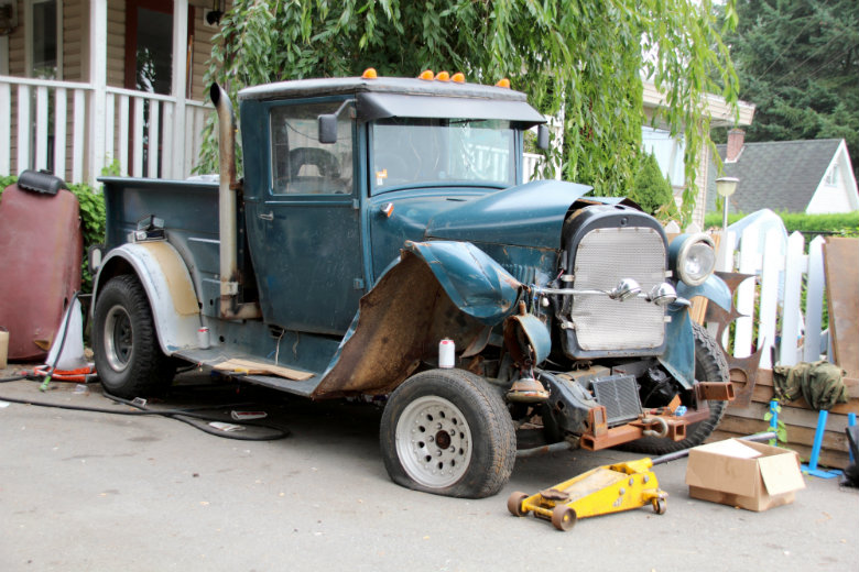 Old truck restoration
