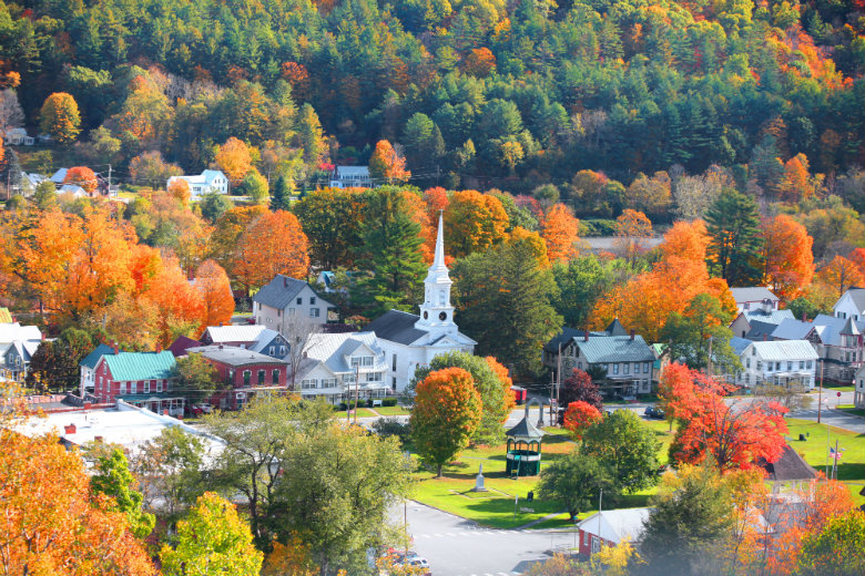 Vermont in Autumn Time