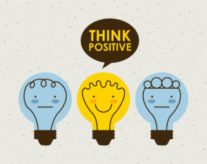 Light Bulb - Think Positive